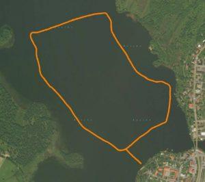 Skridskobana på Bysjön